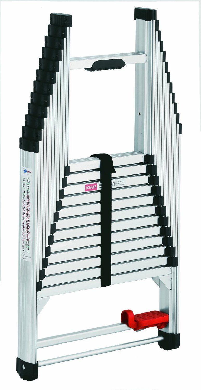 telescopische ladder 105 400 cm sls. Black Bedroom Furniture Sets. Home Design Ideas