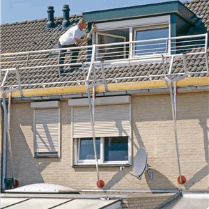 RSS Roof Safety Systems, Hellend Dak.